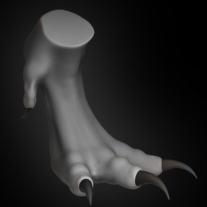 dragon claw concept 2019 3D model