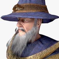 original wizard staff 3D model