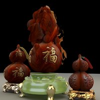 3D chinese gourd