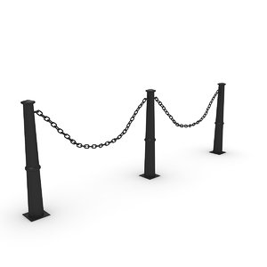 3D chain iron model