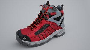 boots shoe 3D model