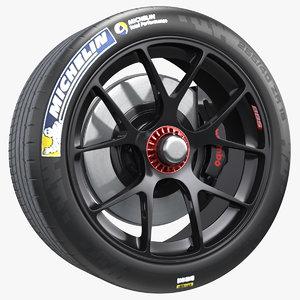 3D toyota racing wheel