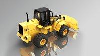 3D model bulldozer bruder fr 150