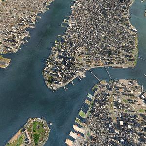 manhattan city model