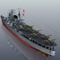 3D model japanese mogami