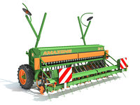 3D amazone seed drill