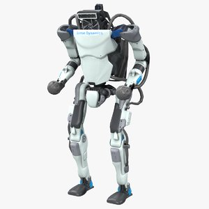 3D model atlas robot boston dynamics