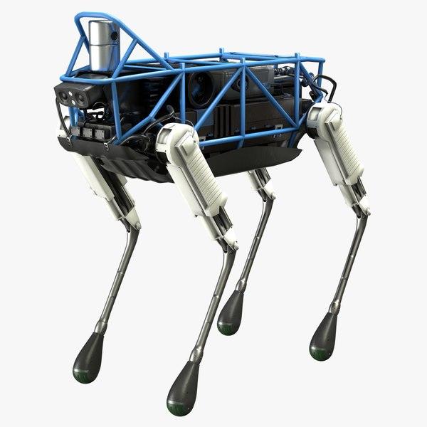 spot classic robot boston 3D model