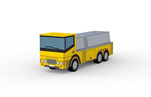 3D tank truck model