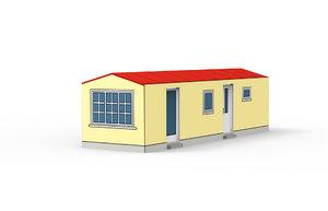 mobilehome 3D model