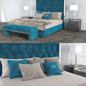 3D fur bed dv home