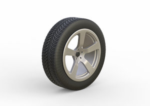 wheels vehicle 3D