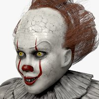 clown pennywise 3D model