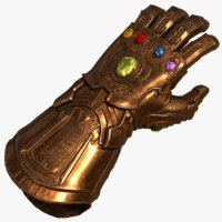 infinity gauntlet marvel universe model