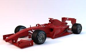 f1 base 3D model