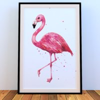 picture flamingo frame model