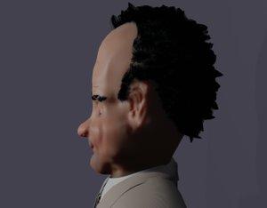 3D caricature tony shalhoub