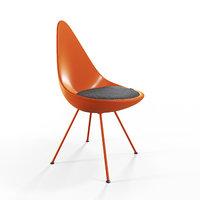 drop chair 3D model