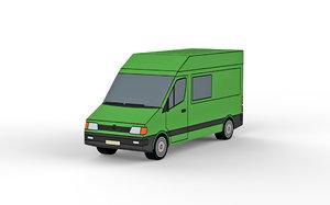 green van 3D model