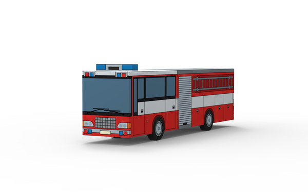 vehicle truck 3D