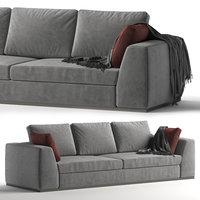 sofa praddy benny 3D model