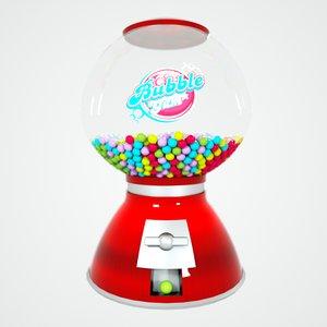 3D bubble model