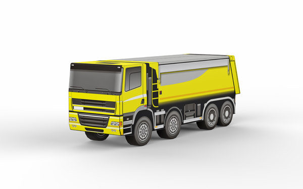 truck transportation vehicle 3D model