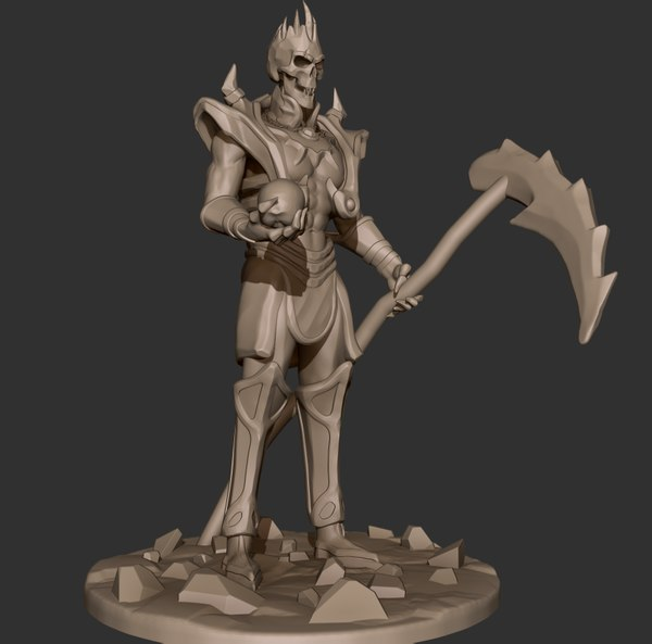 undead lord 3D