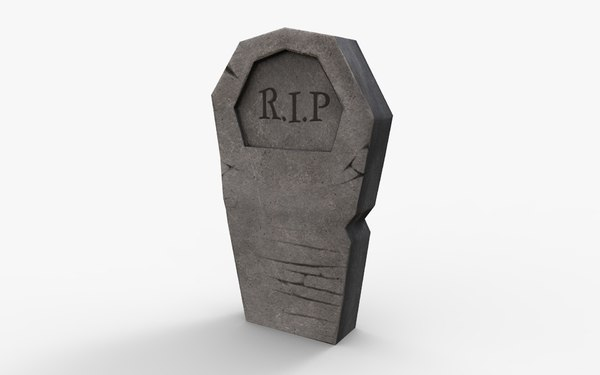 grave 1 3D model