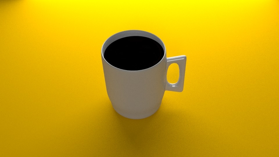 3D coffee expresso