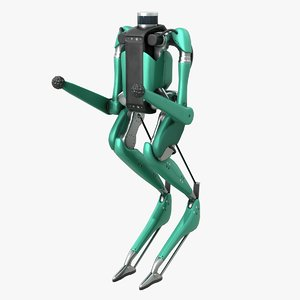 3D digit robot model