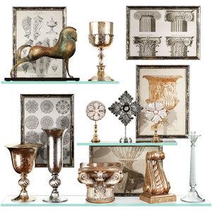 3D decorative set 51 model