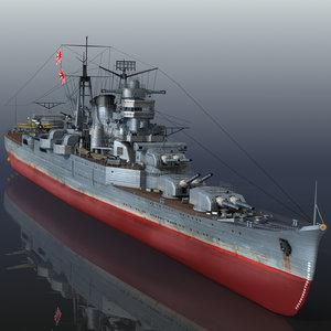 3D japanese kumano model