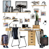 Teenager workspace set