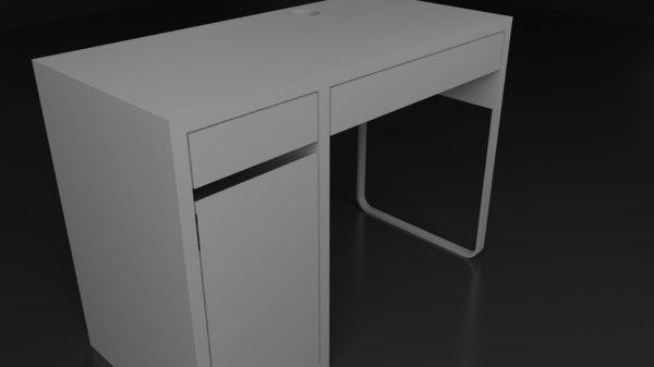 table archiviz model