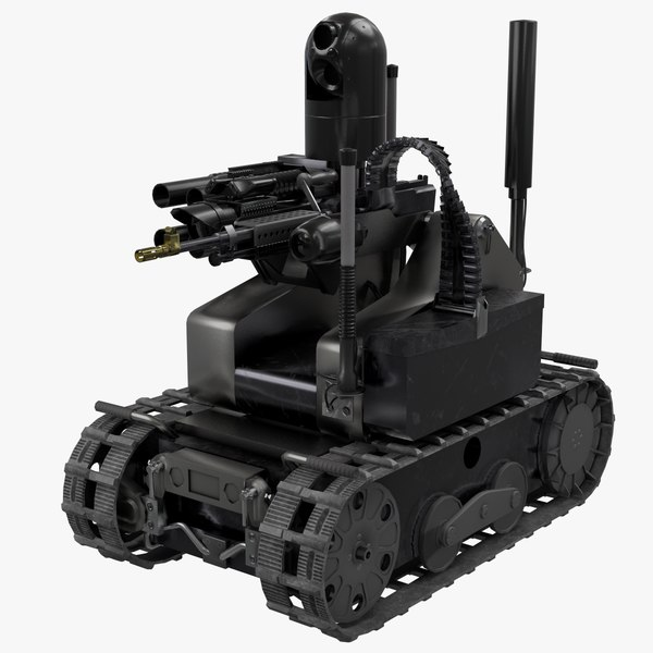 3D maars robotic combat model