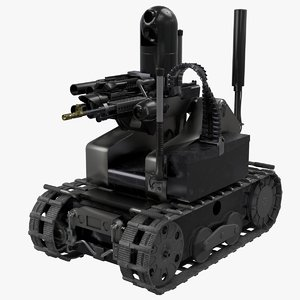 3D maars robotic combat model