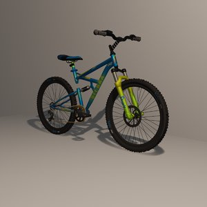 mountain bike 3D