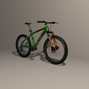 mountain bike 3D model