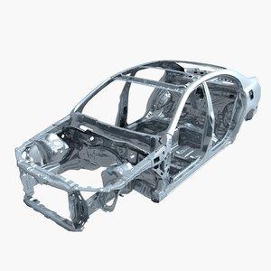 3D car frame