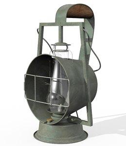 dietz acme inspector kerosene 3D model
