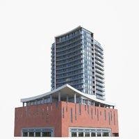 condominiums pbr 3D model