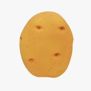 potato cartoon model