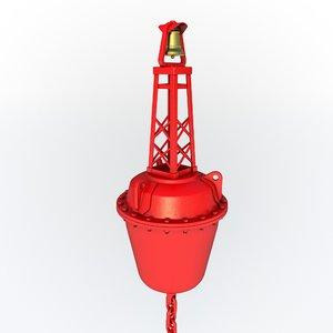 buoy navigation 3D model