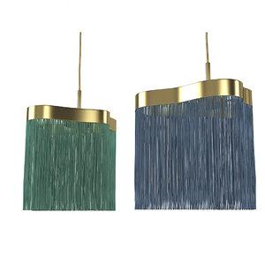3D contrardi arcipelago lamp model