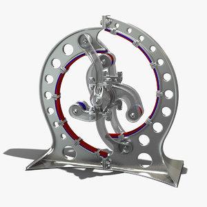 magnetic motor 3D