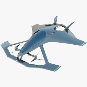 volante vision aston martin 3D model