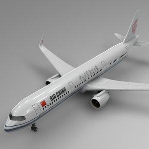 3D airbus 321 neo air