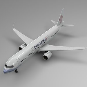 3D airbus a321 neo china