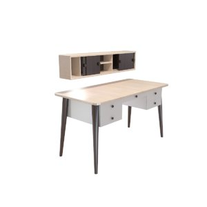 3D desk furniture model